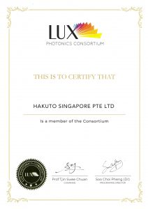 Hakuto Singapore LUX Photonics Consortium